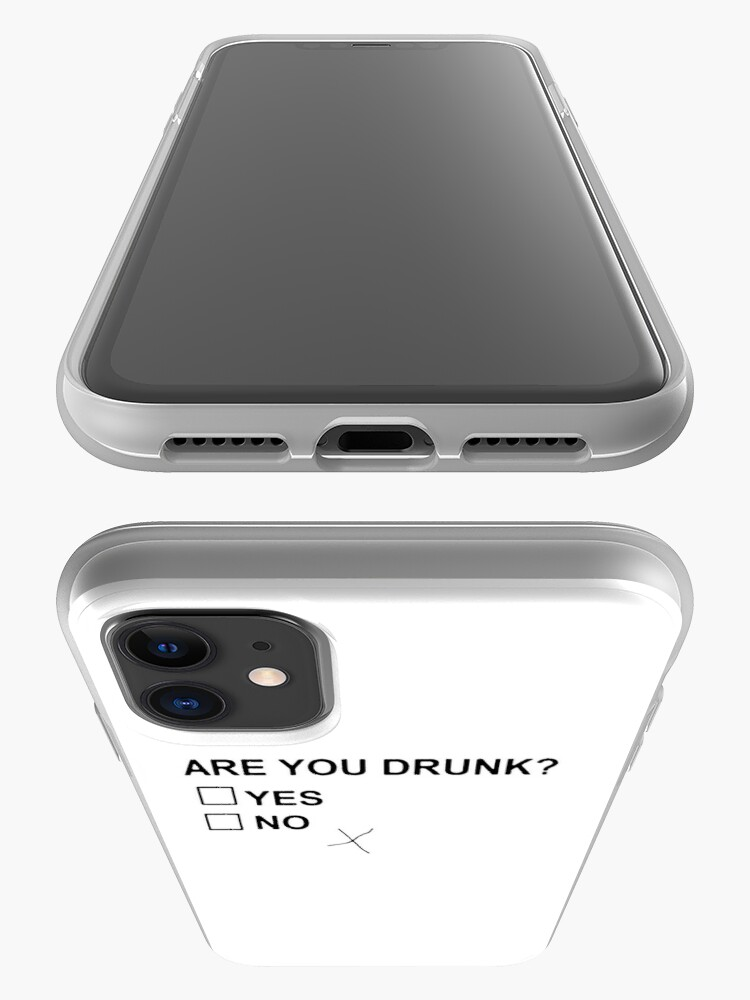 Alternate view of Are You Drunk iPhone Case & Cover