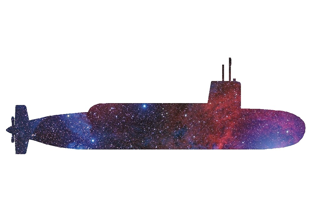 Submarine - Galaxy by paperbouquet