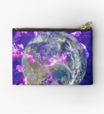 End Of The Earth? Zipper Pouch