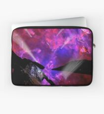 Asteroid Showers over Bow Fiddle Rock Laptop Sleeve