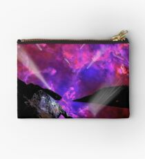 Asteroid Showers over Bow Fiddle Rock Zipper Pouch