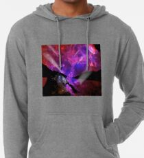 Asteroid Showers over Bow Fiddle Rock Lightweight Hoodie