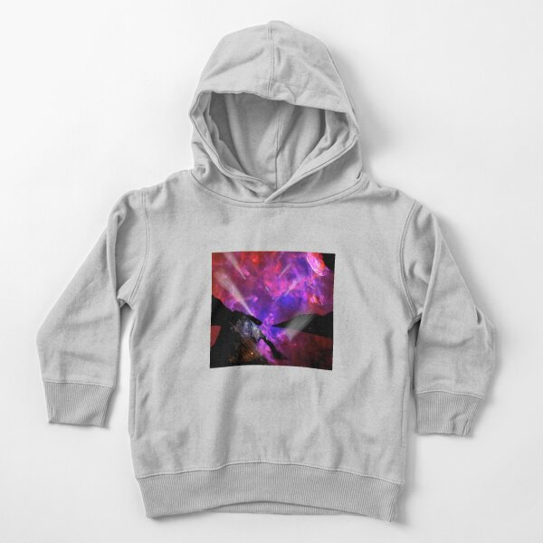 Asteroid Showers over Bow Fiddle Rock Toddler Pullover Hoodie