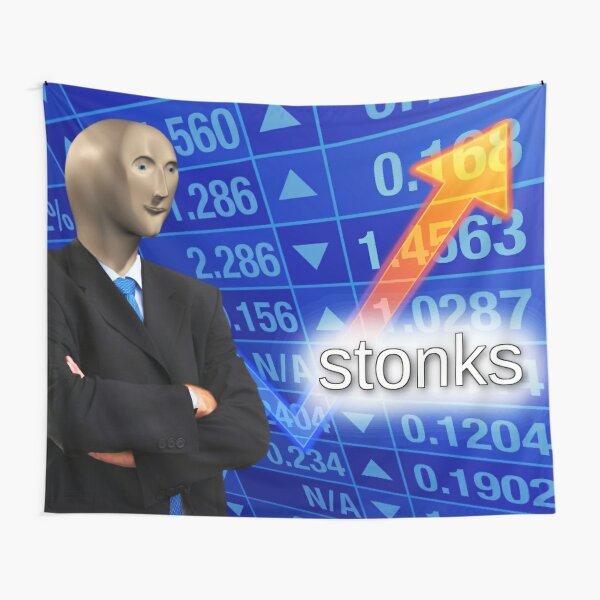 stonks Tapestry