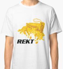 Rekt Bitcoin Train Classic T-Shirt