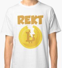Bitcoin Rekt Classic T-Shirt