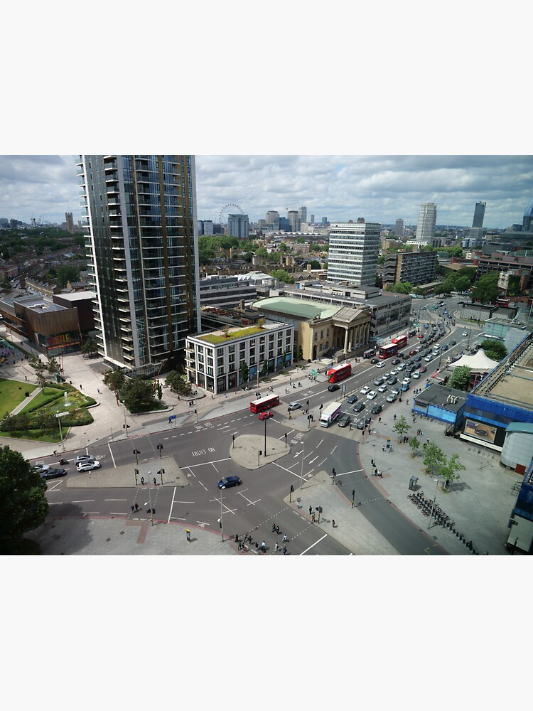 Roundabouts in London for free flow of traffic by santoshputhran