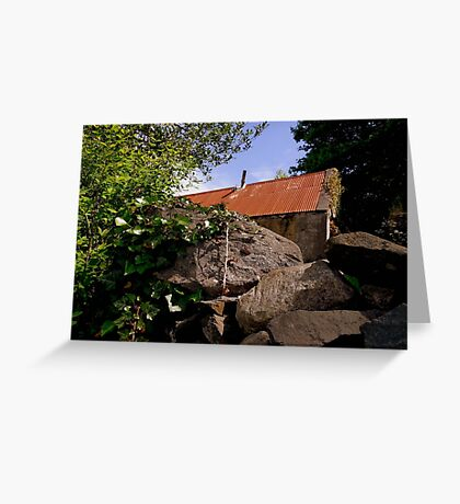 Old & Rundown Shed Greeting Card