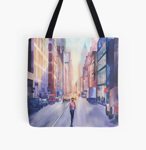 Switch off noise All Over Print Tote Bag
