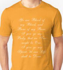 Outlander Wedding Vows Unisex T-Shirt