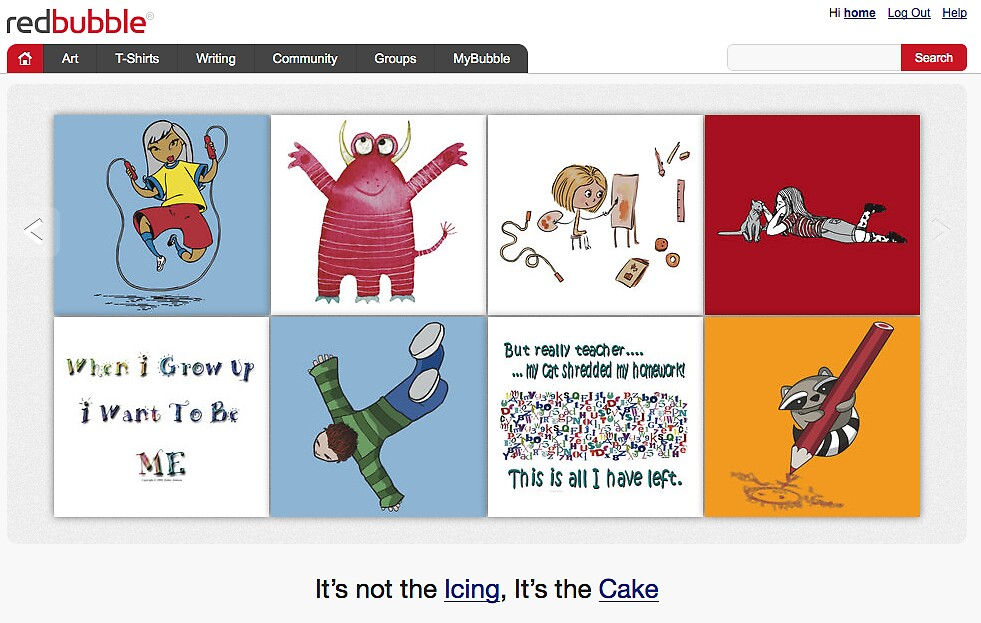 Back to School - 27 August 2010 by The RedBubble Homepage