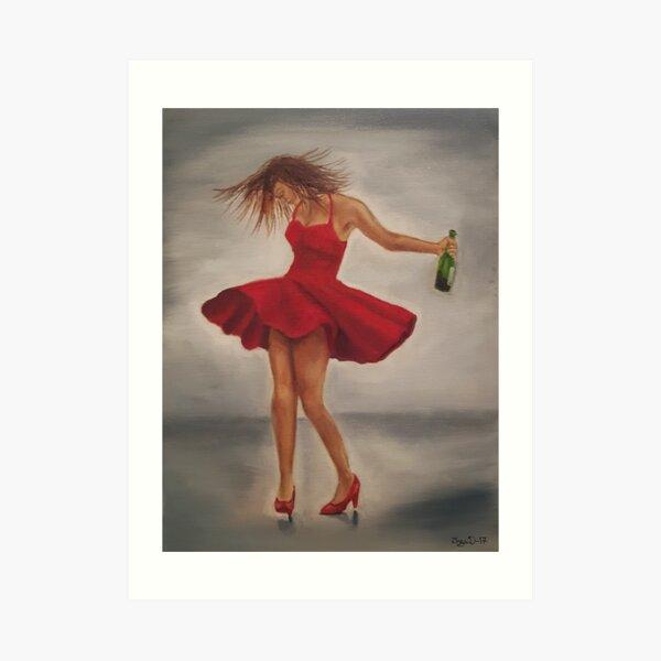 Dance like nobody's watching Art Print