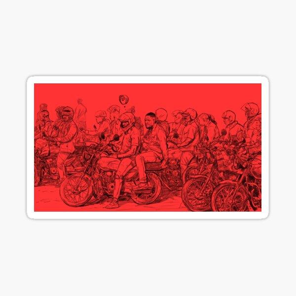 Boda Boda Sticker