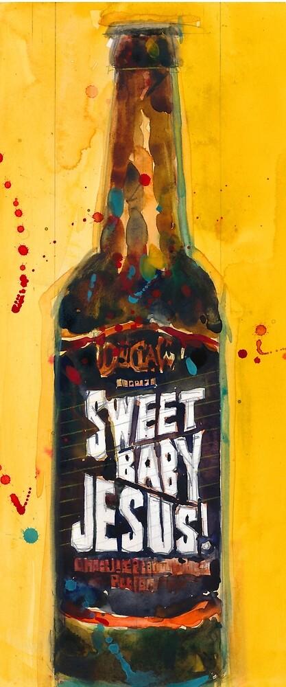 Sweet Baby Jesus by DuClaw Brewing Beer by Dorrie  Rifkin