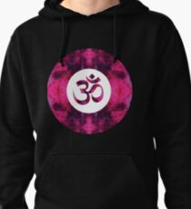 Spinel Space Om Pullover Hoodie