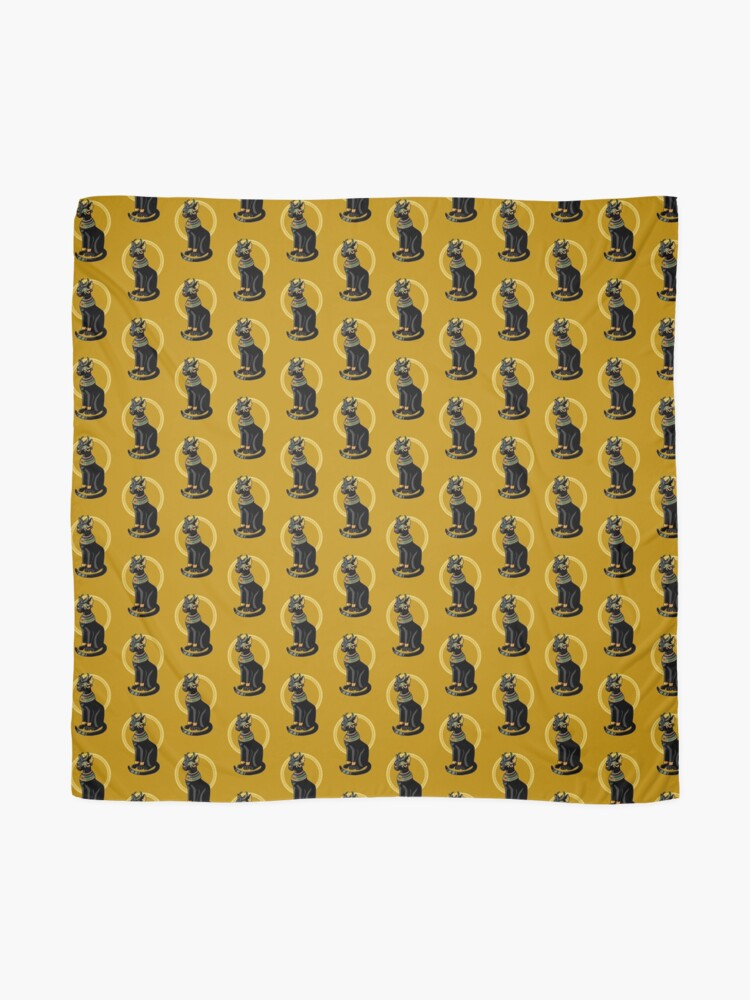 Alternate view of Aziza - Egyptian Cat Scarf