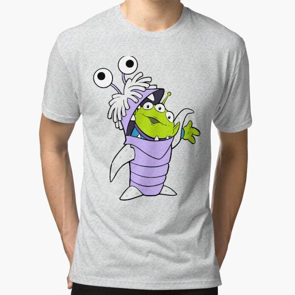 Boo X Alien Tri-blend T-Shirt