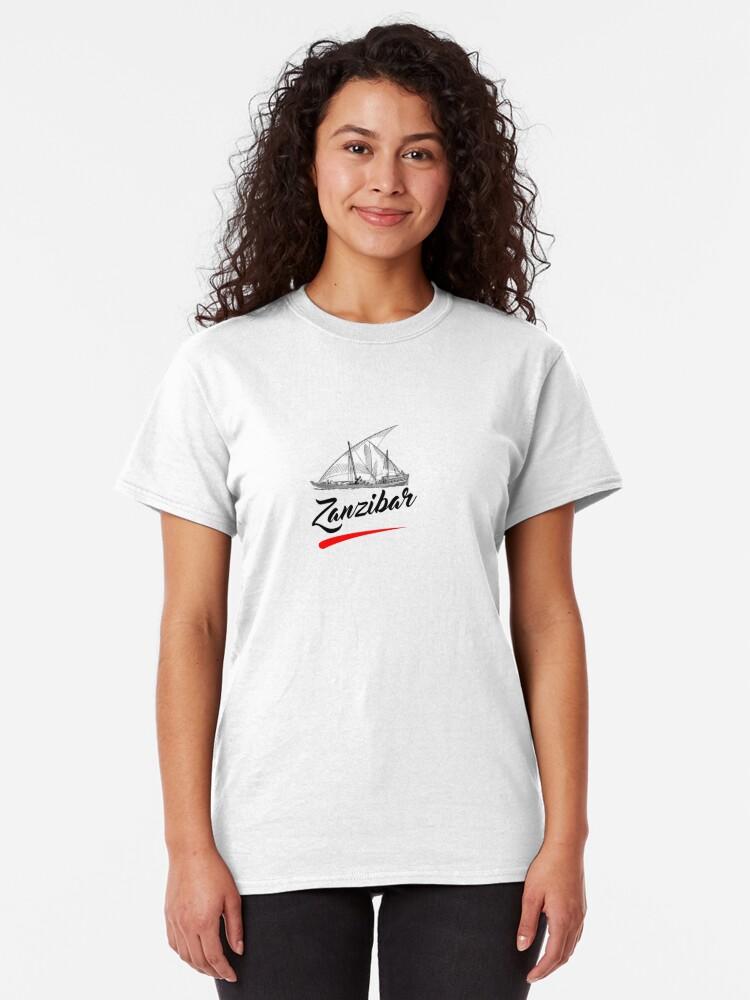 Alternate view of Zanzibar is paradise  Classic T-Shirt