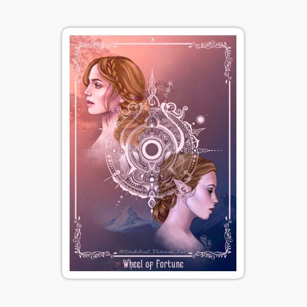Elain - Wheel of Fortune  Sticker