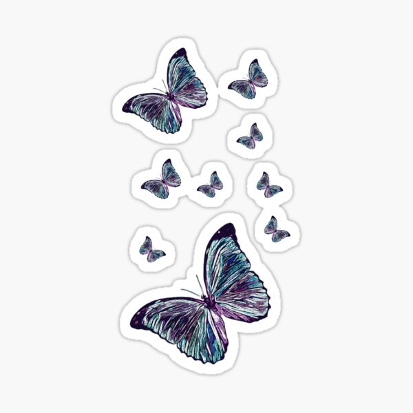 Butterfly Magic Sticker