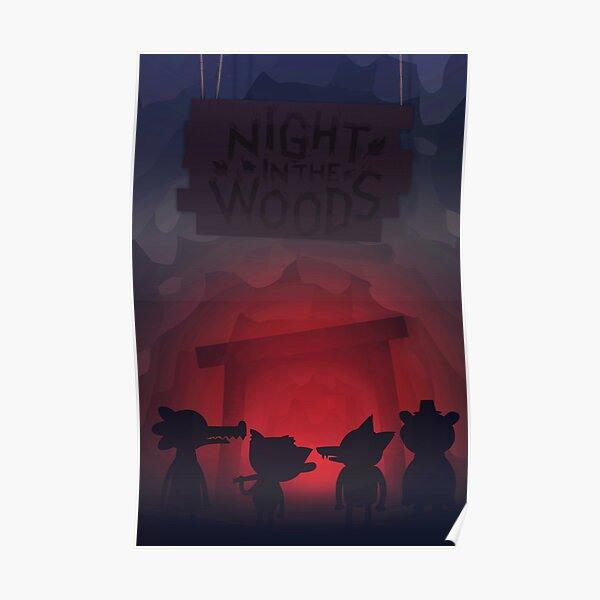 Night in the woods mine Poster