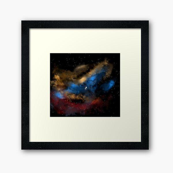 Star Trek - Boldy Going digital painting - StarTrek Framed Art Print