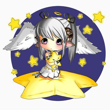 angelic star sheep by Schizophrenic