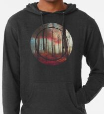 Ruby Red Evening Lightweight Hoodie