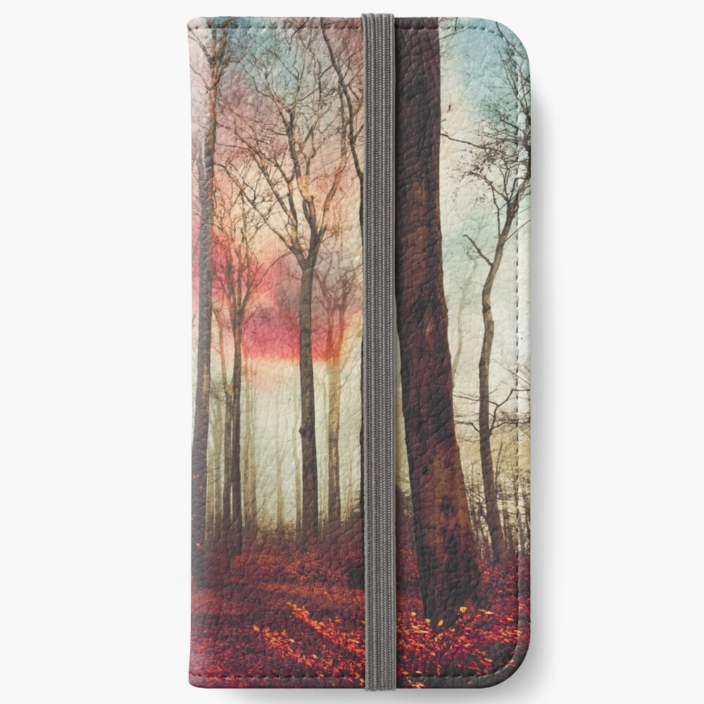 Ruby Red Evening iPhone Wallet