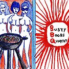 Busty Boobs Quartet by iwantajuicer