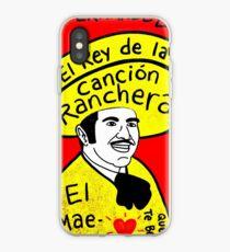 Vicente Fernandez Mexico Pop Folk Art iPhone Case