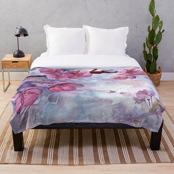 """""""Sakura"""" Throw Blanket"""