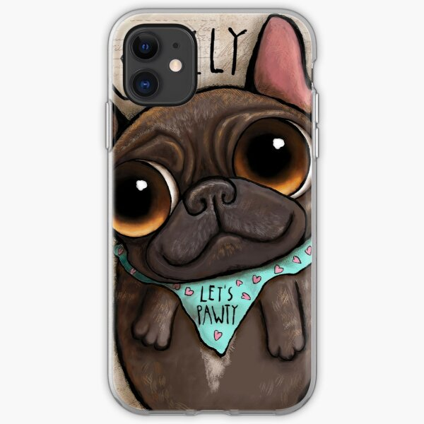 My friend Grizzly French bulldog iPhone Soft Case