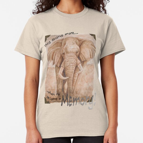 In Memory of Elephants Classic T-Shirt