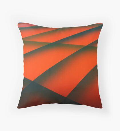 Street Rod Art: Layers of the Hood Throw Pillow