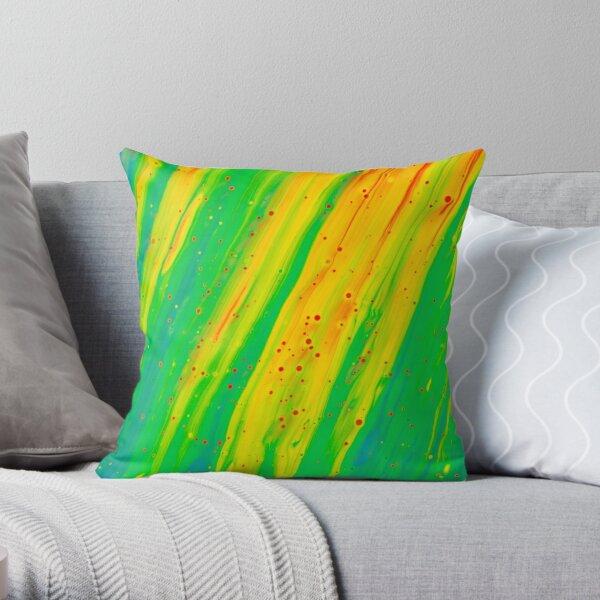 Colour My World Throw Pillow