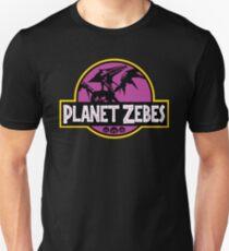 Camiseta ajustada Planeta zebes (morado)