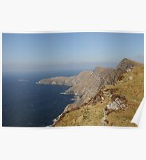 Achill Cliffs Poster