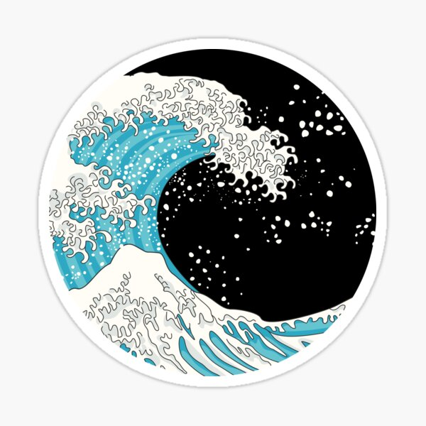 Kanagawa Wave Sticker