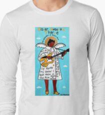Sister Rosetta Tharpe Gospel Folk Art Long Sleeve T-Shirt