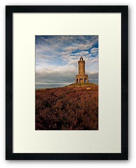 Darwen Tower in late summer by Shaun Whiteman