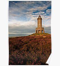 Darwen Tower in late summer Poster
