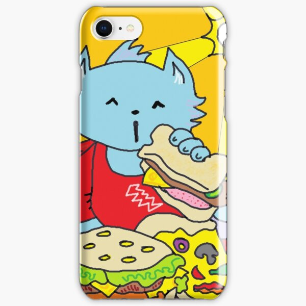 Fast Food Cat iPhone Snap Case
