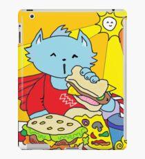 Fast Food Cat iPad Case/Skin