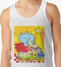 Fast Food Cat Tank Top
