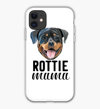 Rottie mama - rottie mama, rottweiler mama, rottie mom, dog mom, dog mama, cute dog, dogs, d iPhone Case