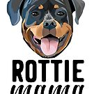 Rottie mama - rottie mama, rottweiler mama, rottie mom, dog mom, dog mama, cute dog, dogs, d by PetFriendly