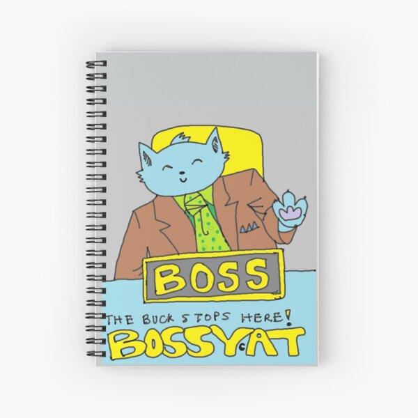 Boss Cat Spiral Notebook