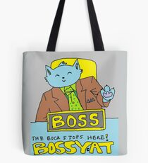 Boss Cat Tote Bag