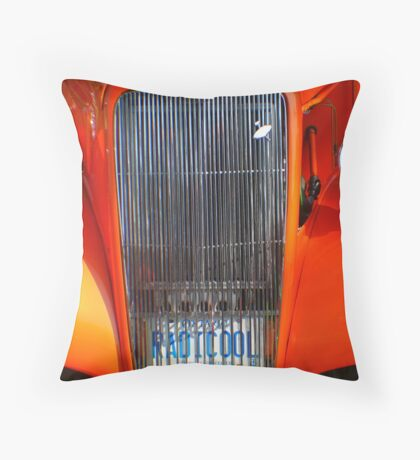 Street Rod Art: RadiCool Throw Pillow